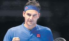 Federers 15th time joining the semifinals - Sakshi