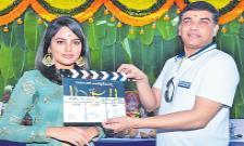 Nandita Swetha's Akshara Movie Launch - Sakshi