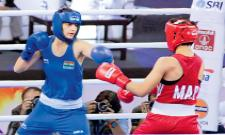 AIBA Womens World Boxing Championships 2018: Sarita Devi, Manisha Moun and Sonia Progress - Sakshi