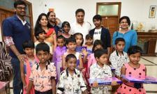 KTR Celebrates Diwali With Childrens - Sakshi