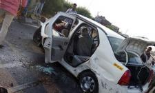 Three Killed In Car Accident At mahabubNagar - Sakshi