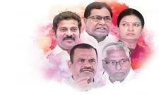Top Congress leaders taste defeat in Telangana - Sakshi