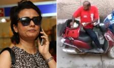 Namrata Shirodkar Fires On Zomato For Its Delivery Boy Eating Customer Food - Sakshi