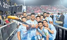 The Indian hockey team is semifinals at the World Cup - Sakshi
