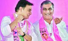 harish rao wishes ktr for appointed as trs working - Sakshi