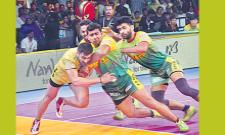 The last match ended with the victory of Telugu Titans - Sakshi