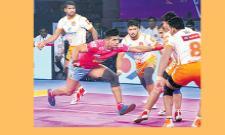 Jaipur Pink Panthers won On the Purnery Palton - Sakshi