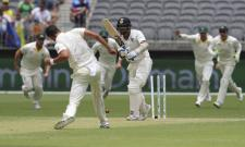 Australia on top with Vijays wicket - Sakshi