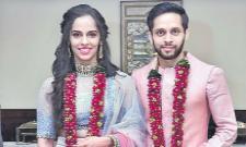 Saina Nehwal married Parupalli Kashyap - Sakshi