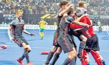 Australias hattrick in World Cup hockey tournament - Sakshi