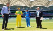 Aaron Finch Wins The Toss And Australia Bat First - Sakshi