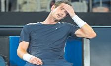 Andy Murray bows out of Australian Open in first round  - Sakshi