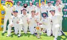 In the Third Test South Africa won by 107 runs - Sakshi