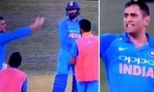 MS Dhoni Loses His Cool And Blasts at Khaleel Ahmed In Adelaide Match - Sakshi
