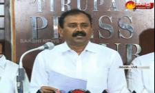 Bhumana Karunakar Reddy Fire On Chandrababu Naidu - Sakshi