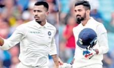 Sourav Ganguly on Pandya Rahul comments row  - Sakshi