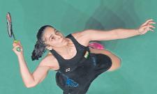 Saina Nehwal tames Nozomi Okuhara to enter Malaysia Masterssemifinals, Srikanth loses - Sakshi