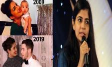 Chinmayi Sripada Fires On Memes On Priyanka And Nick Jonas - Sakshi
