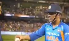 Ball lelo nahi to bolega retirement le rahe hain, Dhoni tells Sanjay Bangar - Sakshi