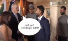 How did Australian Prime Minister recognize Rishabh Pant at first sight? - Sakshi