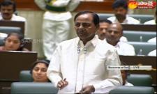 Telangana, Cm KCR Speech At  Assembly On Thanks To Governor Speech  - Sakshi