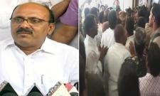 MLA Meda Mallikarjuna Reddy Fires on Minister Adinarayana Reddy - Sakshi