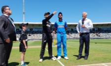 Team India Start With Two Spinners In First ODI Against New Zealand - Sakshi