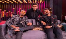 Karan Johar On Hardik Pandya and KL Rahul Row - Sakshi