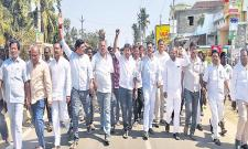 TDP Leaders Attack On YSRCP Office In Srikakulam District  - Sakshi