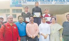 Ujwala gets Run Event Championship - Sakshi