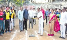 Hyderabad Charters beats Taraka Rama Club in Base Ball - Sakshi