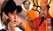 BJP MLA T Raja Singh Sensational Comments on Sania Mirza Over Pulwama Attack - Sakshi
