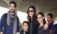 Sushmita Sen Boyfriend Rohman Shawl Wins Race For Her Daughter - Sakshi