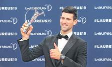 Djokovic wins World Sportsman of the Year at Laureus World Sports Awards - Sakshi