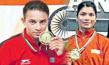 Nikhat, Meena Kumari strike gold at Strandja Memorial Boxing - Sakshi