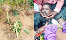 Covert land into helipad for CM; farmer commits suicide - Sakshi