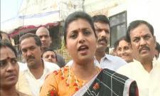 YSRCP MLA Roja Fires On chintamaneni prabhakar - Sakshi