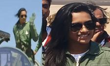PV Sindhu Flies In Made-In-India Tejas Fighter Jet - Sakshi