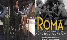 Roma And Black Panther Got Highest Oscar Awards - Sakshi
