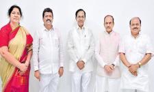 TRS Win All MLC Seats - Sakshi
