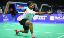 B Sai Praneeth stuns Olympic champion Chen Long to move to Swiss Open final - Sakshi
