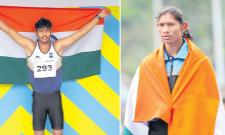 India won four medals at Asian Youth Athletics - Sakshi