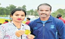 Dutee Chand Bags Gold in Fed Cup - Sakshi