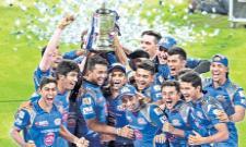 IPL 2015 Winner of Mumbai  - Sakshi