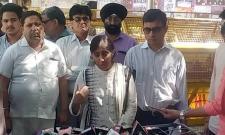 YS vivekananda reddy daughter sunitha reddy met EC for fair probe - Sakshi