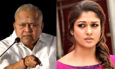 Radha Ravi suspended from DMK over slut shames Nayanthara - Sakshi