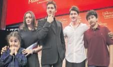 Mahesh Babu gets a wax figure at Madame Tussauds museum in Singapore - Sakshi