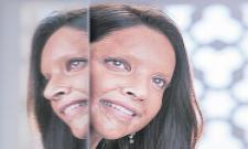 Deepika Padukone as acid attack survivor Laxmi Agarwal in Chhapaak - Sakshi