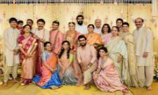 A Rare Photo of Daggubati Family at Venkatesh Daughter Marraige - Sakshi