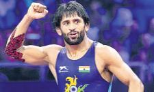 Wrestler Bajrang Punia becomes world number 1  - Sakshi